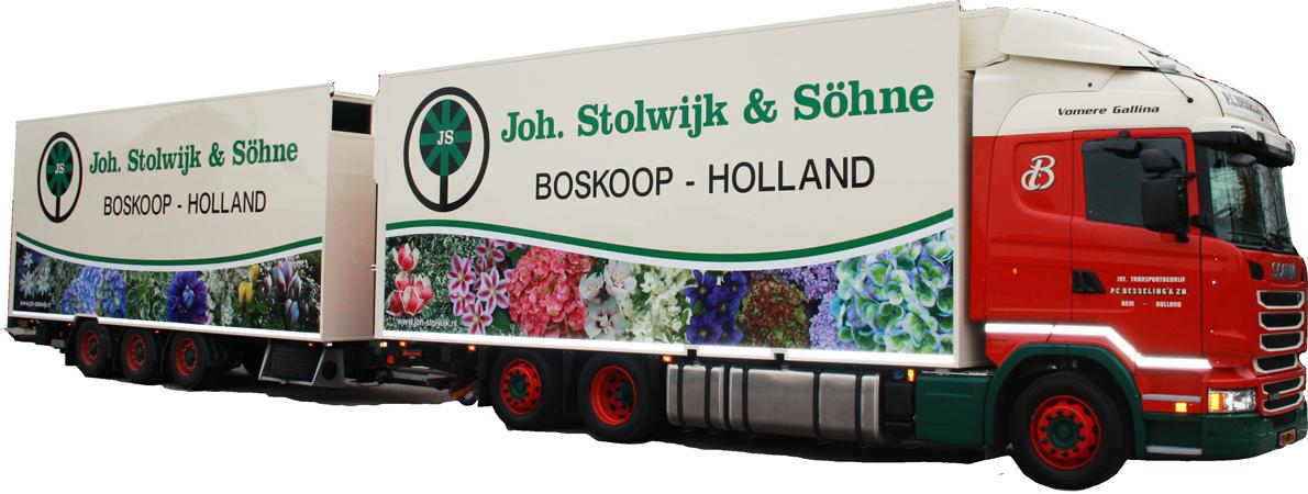 autoreclame trailer vrachtwagen autobelettering