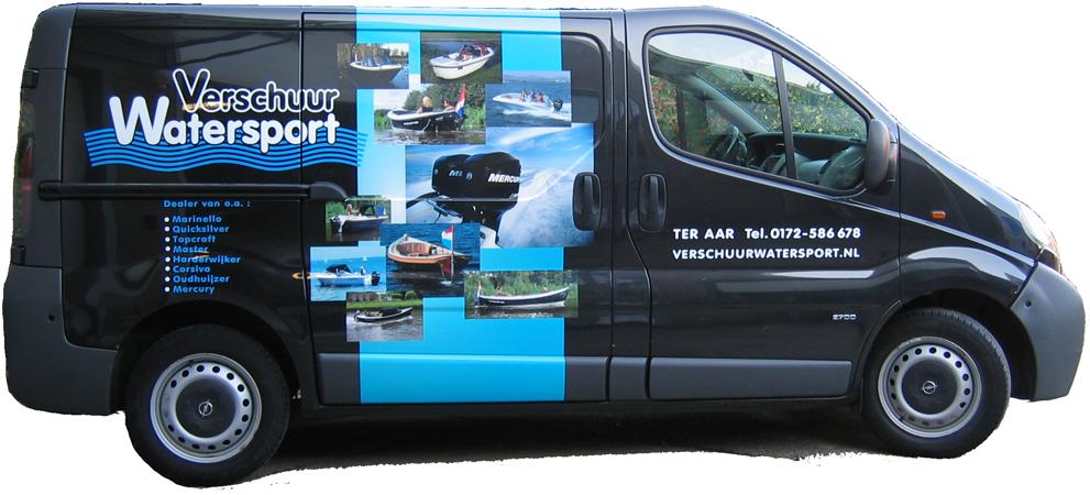 reclame op bus, autoreclame, bedrijfswagen