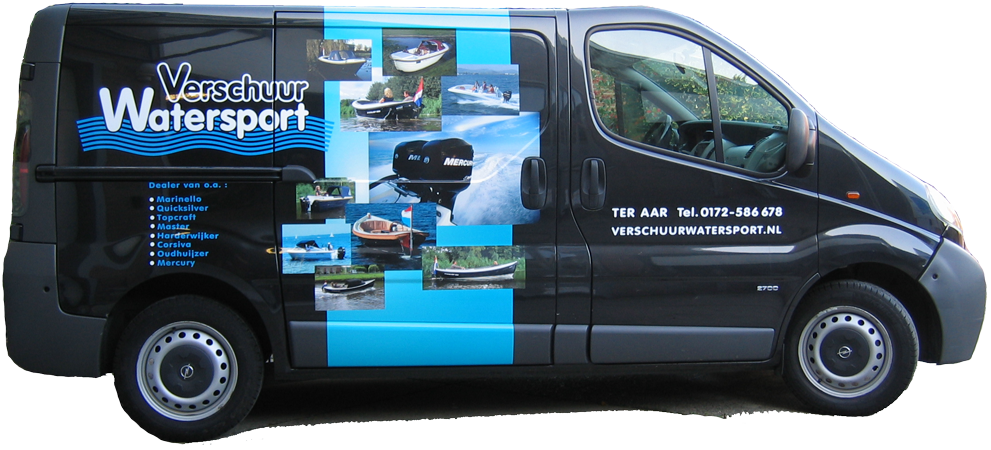 boskoop autoreclame bedrijfswagen