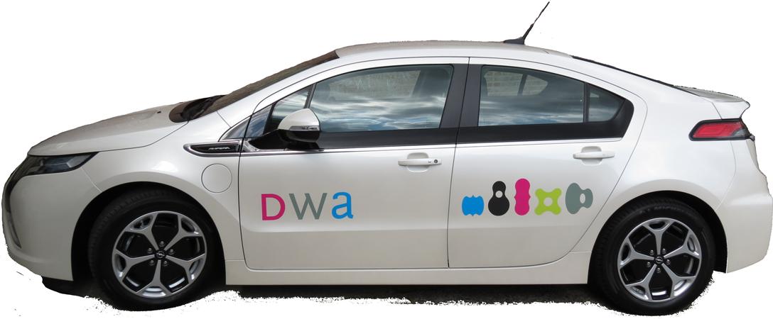 autoreclame, reclame op personenwagen