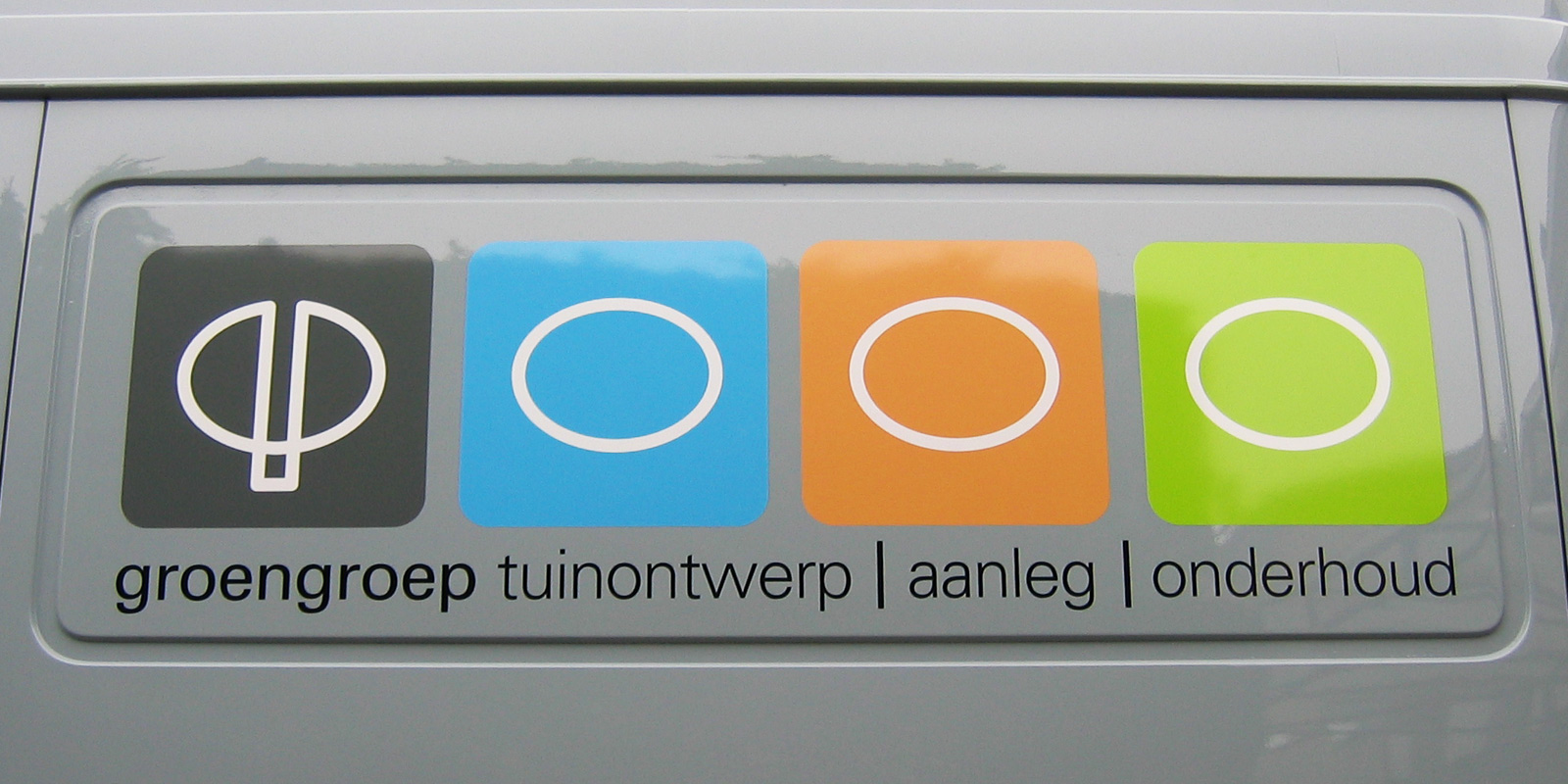 stickers op bus auto